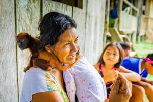Puerto Miguel pobladores