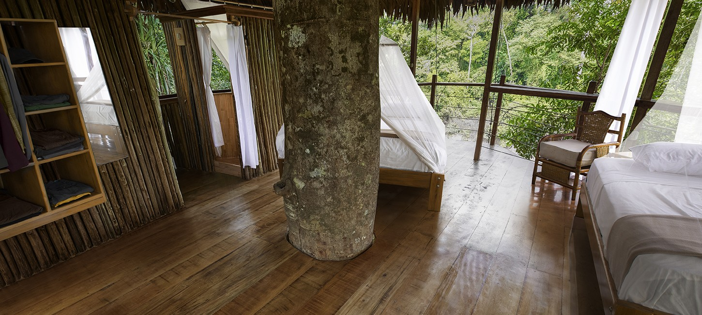 treehouse lodge Peruvian amazon