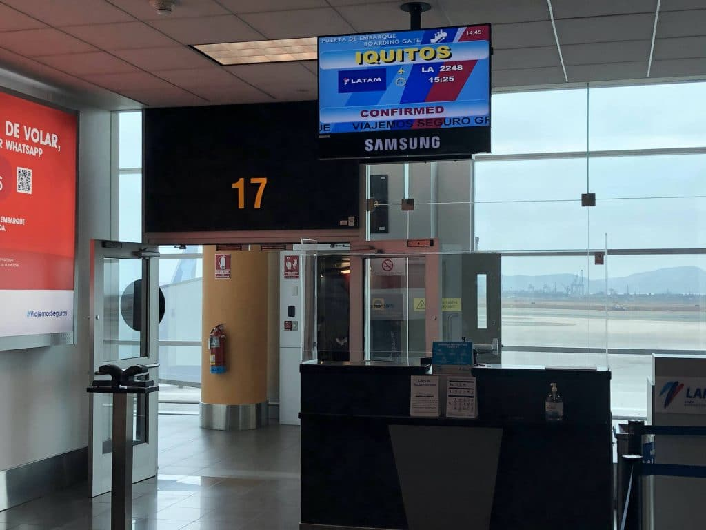 Flight to Iquitos